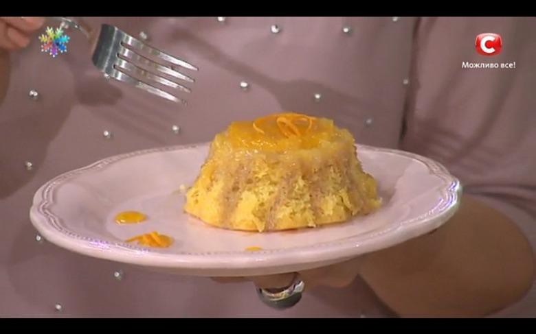 Апельсиново-кофейный пудинг от Татьяны Литвиновой