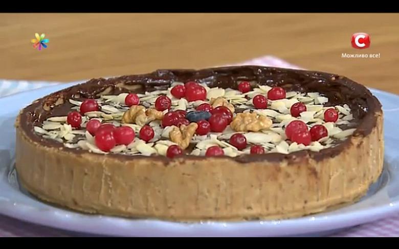 Шоколадный торт без выпекания от Анны Сумской