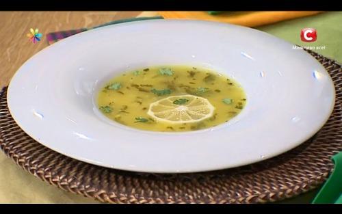 Диетический лимонный суп от тренера Аниты Луценко