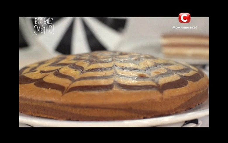 Торт «Зебра» від Лізи Глінської