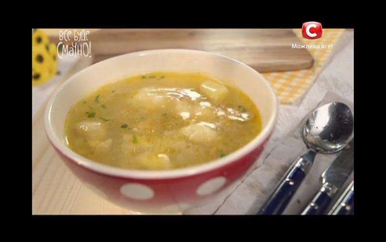 Суп з галушками від Алли Ковальчук