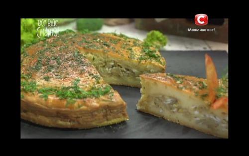 Пиріг з капустою від Алли Ковальчук