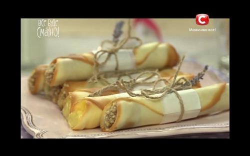 Вафельні трубочки від Алли Ковальчук