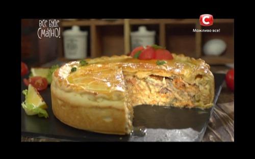 Пиріг з бичками від Сергія Калініна