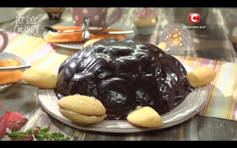 Торт «Черепаха» від Тетяни Литвинової