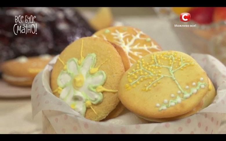 Печиво з шоколадним прошарком від Тетяни Литвинової