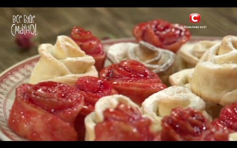 Трояндочки з сирного тіста від Алли Ковальчук