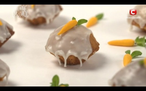 Морковные кексы от Лизы Глинской