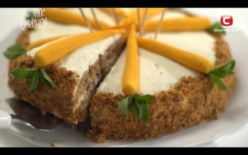 Морковный торт от Лизы Глинской