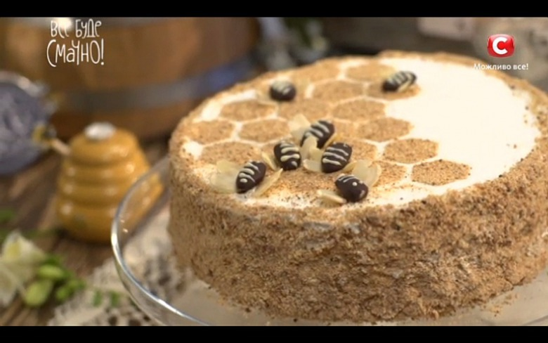Все буде смачно рецепты торты