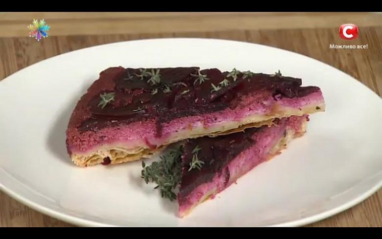 Свекольный тарт от кулинара Эктора Хименес-Браво