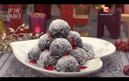 Пирожные «Киевские каштаны» от Татьяны Литвиновой