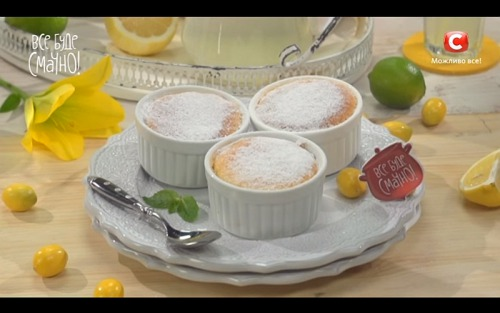 Десерт «Лимонное облачко» от Самвела Адамяна