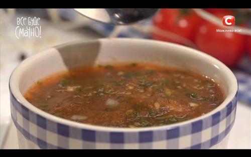 Томатный соус с травами от Сергея Калинина