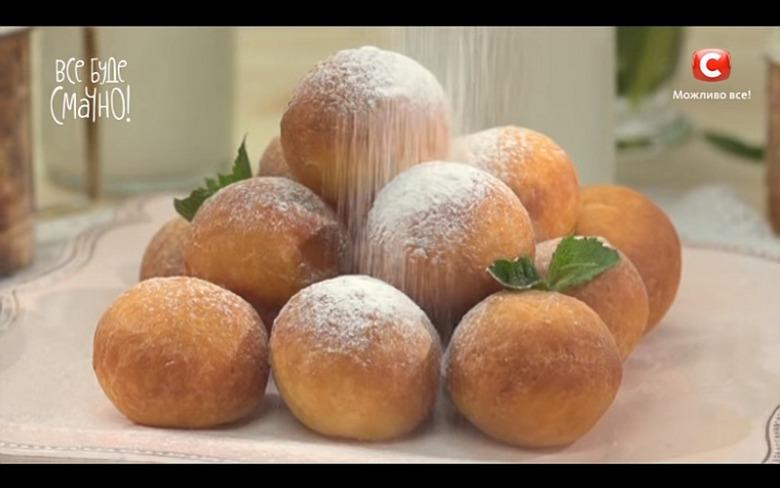 Творожные пончики от Аллы Ковальчук