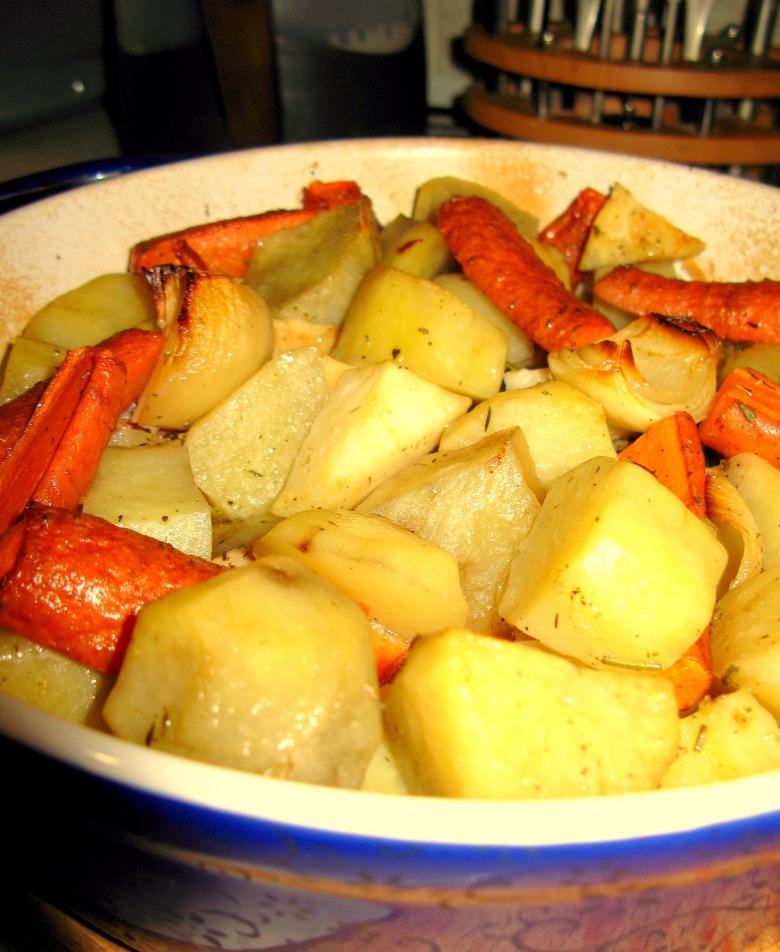 Запеченные овощи от Джейми Оливера