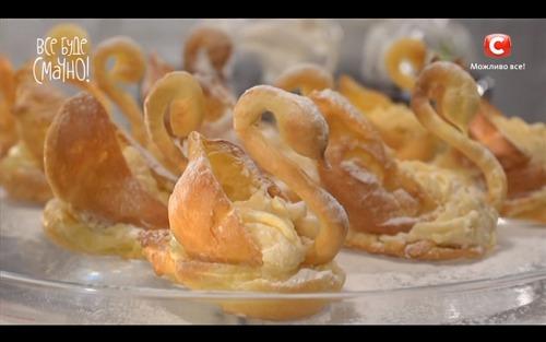 Пирожные «Лебеди» от Самвела Адамяна