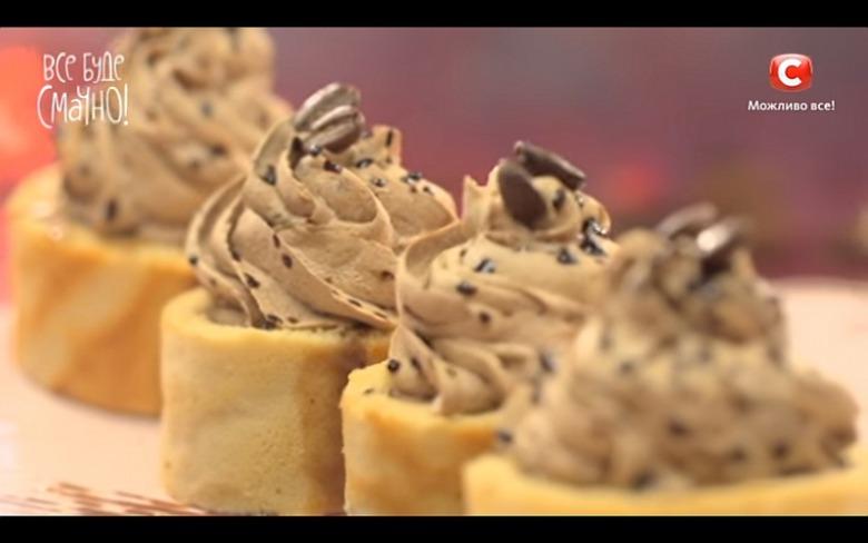 Рулетные пирожные от Лизы Глинской
