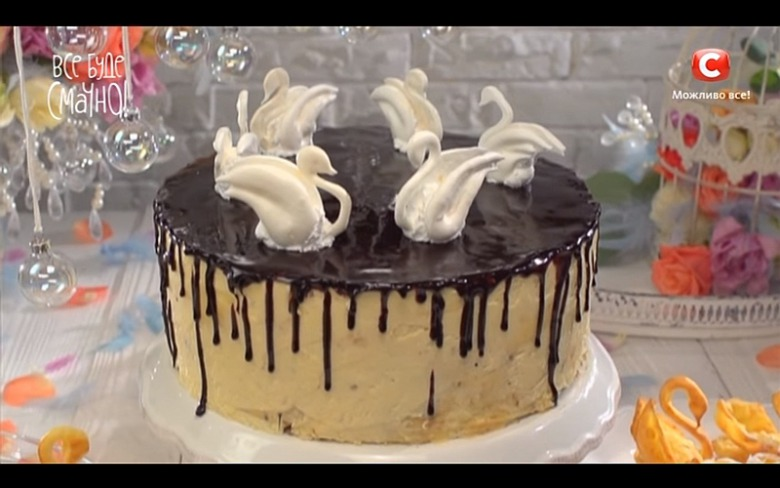 Торт лебединое озеро рецепт пошагово от самвела