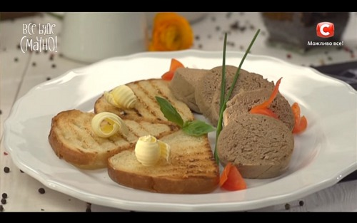 Ливерная колбаса от Сергея Калинина