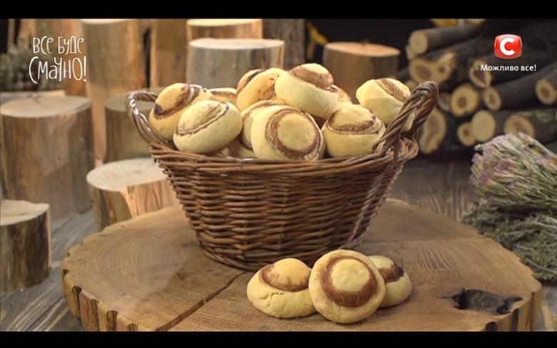 Печенье «Шампиньоны» от Аллы Ковальчук