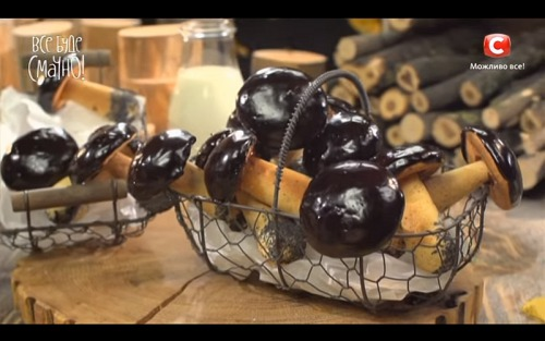 Печенье «Грибочки» от Аллы Ковальчук