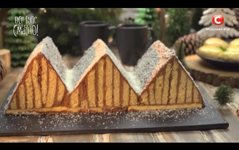 Торт «Карпаты» от Аллы Ковальчук