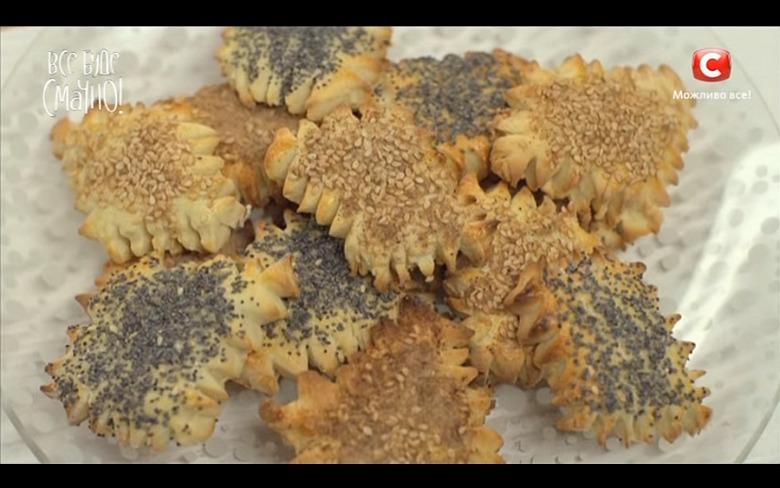 Печенье с маком и кунжутом от Аллы Ковальчук