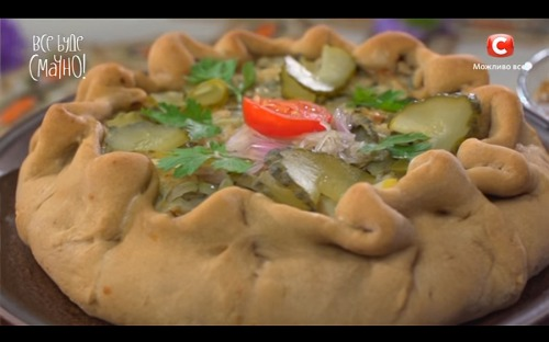 Кофейный пирог с перловкой от Самвела Адамяна