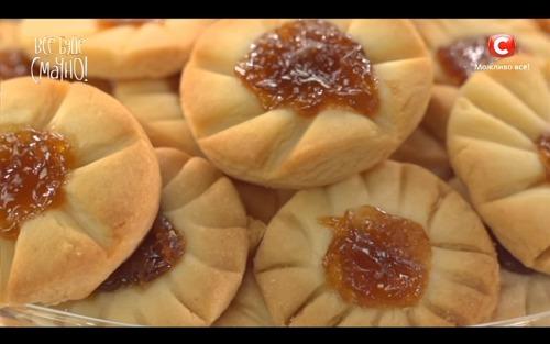Печенье «Курабье» от Аллы Ковальчук