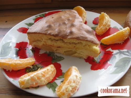 Пирог «Ананасовый рай»