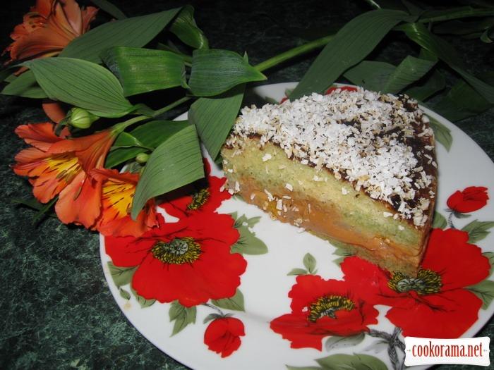 """Торт """"Ніжний персик"""""""