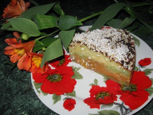 """Торт """"Нежный персик"""""""