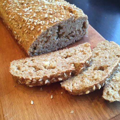 Сирний хліб з висівок