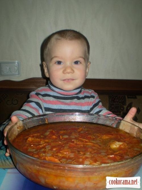 Рыба в томатном соке