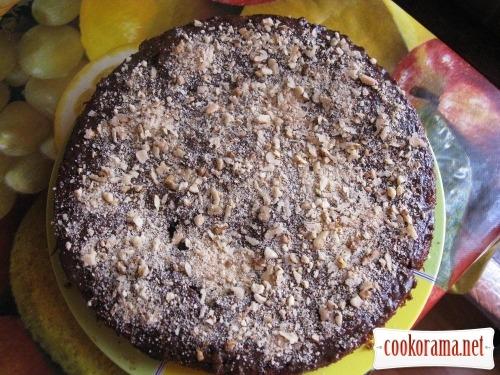 Пісний пиріг на тісті з чаю або «Криза нам по зубам !!!»
