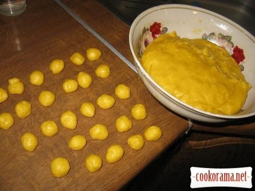 Печиво «Горішки» на смальці
