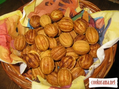Печенье «Орешки» на смальце