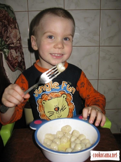 Найпростіше тісто, «Колобки»  або «Капітошки» з нього : )
