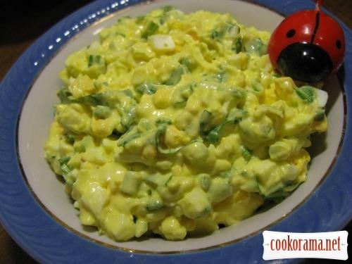 Самый простой салат из черемши