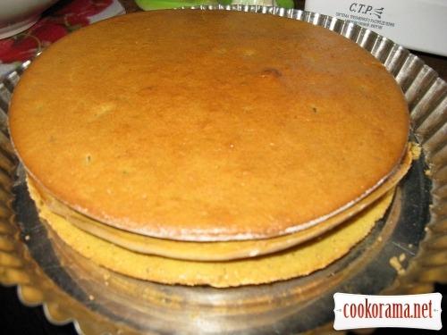 Торт «Горіховий»