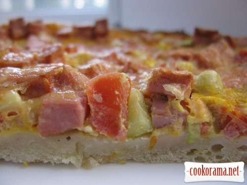 Піца рецепт тіста фото