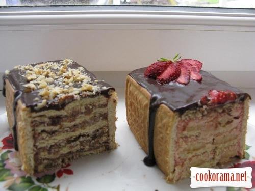 Міні тортики або тістечка без випічки