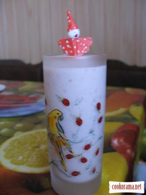 Карамельно-фруктовий (ягідний) коктейль