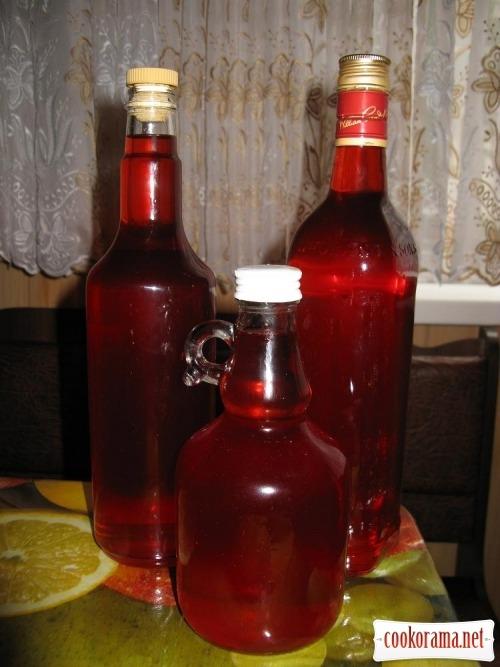 Cherry liqueur in 12 hours