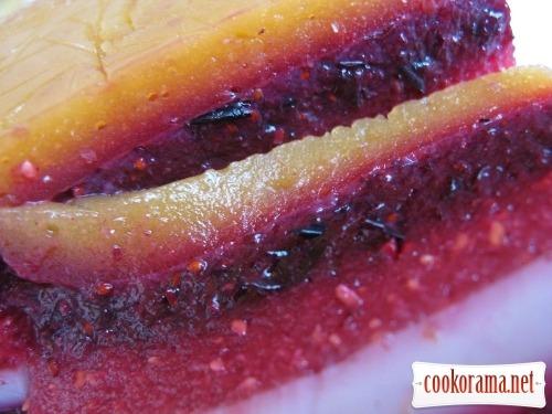 Fruit - berry cake - jelly