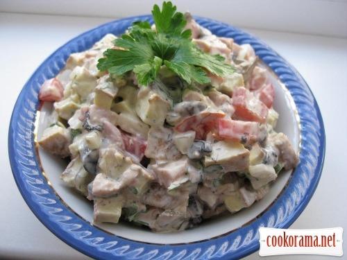 Salad «Idyll»