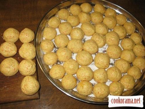 Curd-carrot meatballs