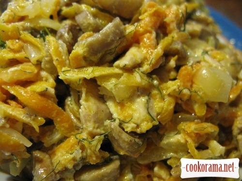 Salad Hen