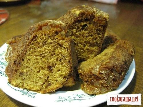 Сливочный кекс с цукатами